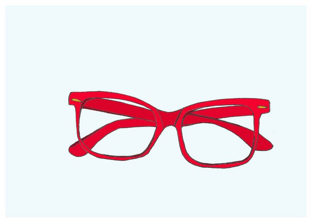 Red Glasses Print ($12)