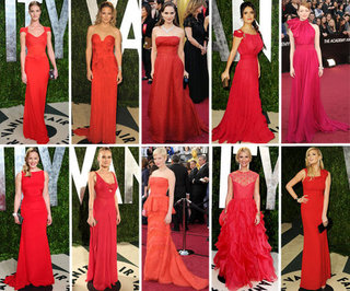 Shop Oscars 2012 Red Dresses