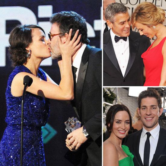 Hollywood's Hottest Couples Heat Up the 2012 Award Season