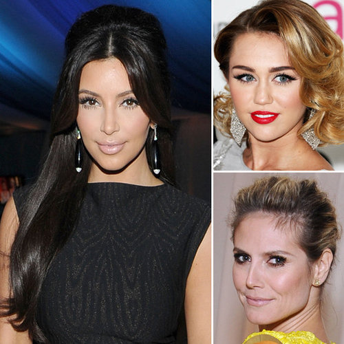 Celebrity Beauty Looks From Elton John's 2012 Oscars Viewing Party