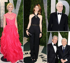 See Celebrity Arrivals at the Vanity Fair Oscars Party: Olivia Wilde, Claire Danes, Amy Adams, Sofia Coppola