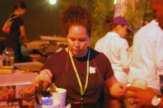 Stephanie Izard Preps at The Q