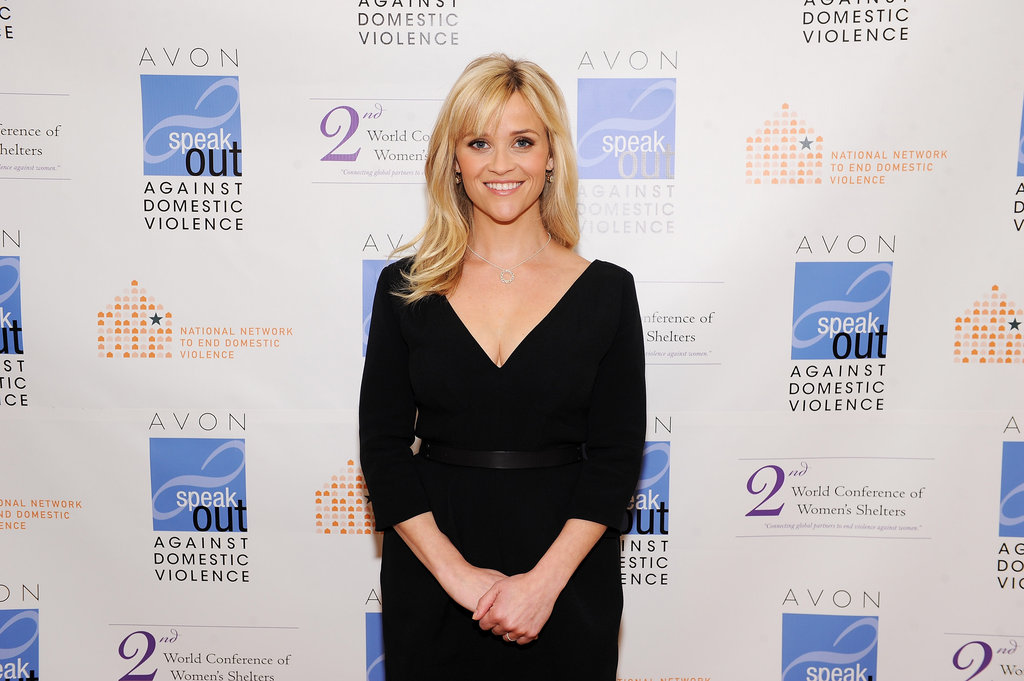 Reese Witherspoon at an Avon event in Washington DC.