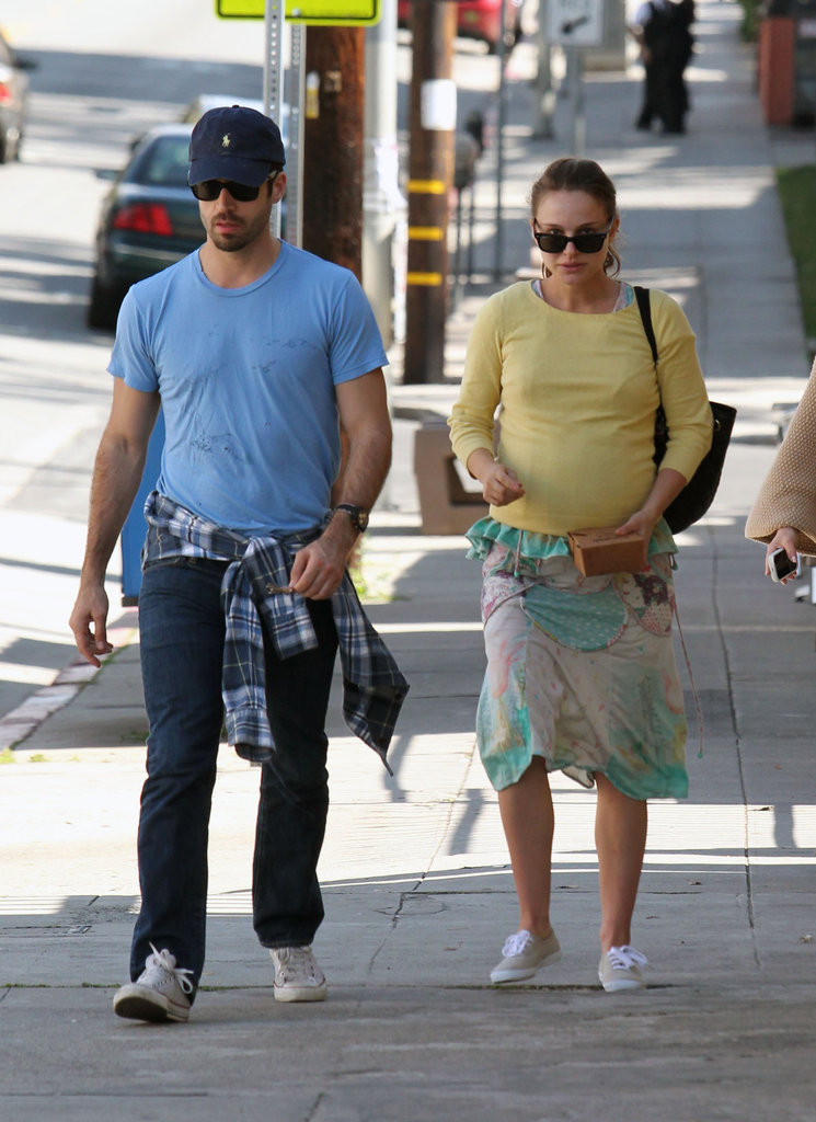 Natalie Portman and Benjamin Millepied celebrated the morning after her February 2011 Oscars win with brunch in LA.