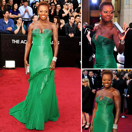 Go Green: Shop Pieces Inspired by Viola Davis's Gorgeous Emerald Oscars Gown