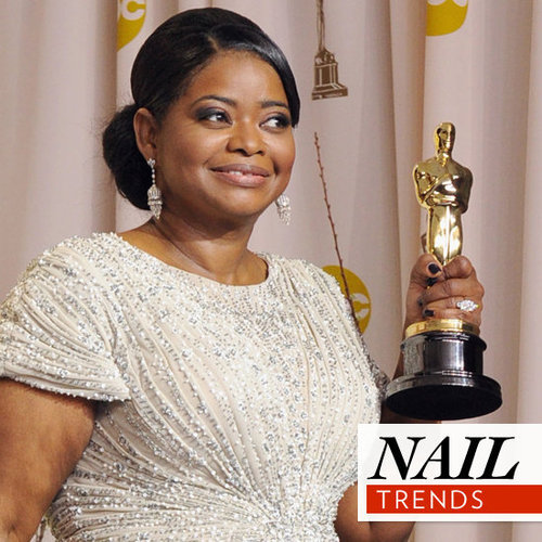 2012 Academy Awards: See all the Celebrity Oscars Manicures from Michelle Williams, Angelina Jolie, Viola Davis & More!