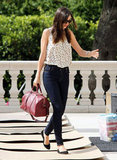 Miranda Kerr ran errands around LA.
