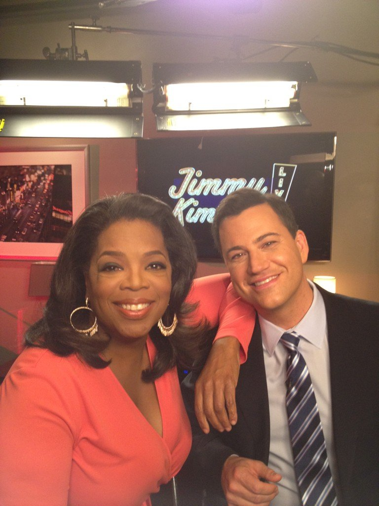 Oprah Meets Jimmy