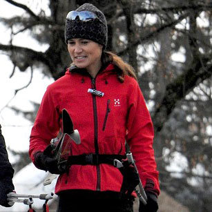 Pippa Middleton Pictures Skiing