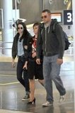 Kristen Stewart wore sunglasses in Paris.