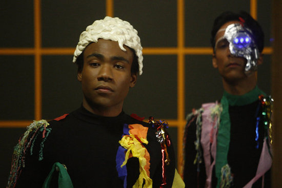 Donald Glover as Troy and Danny Pudi as Abed in Community. Photo courtesy of NBC