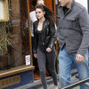 Kristen Stewart at Le Duc in Paris Pictures