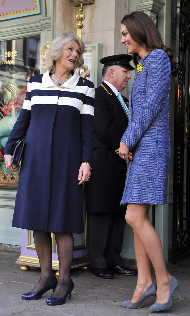 Kate Middleton Joins the Queen and Camilla For Tea and Dog Biscuits