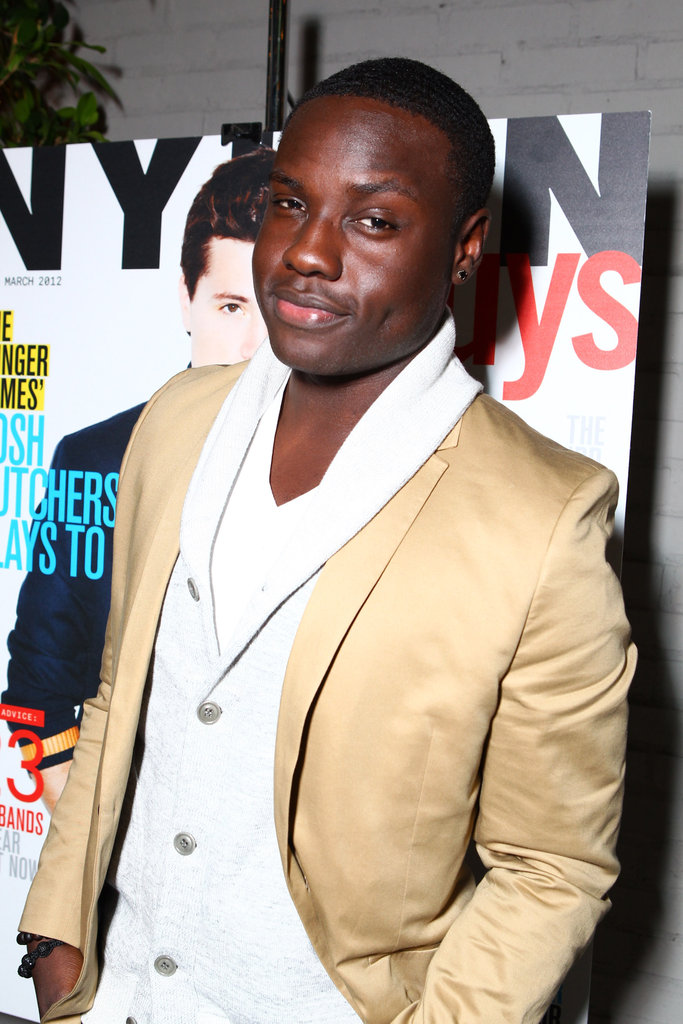 Dayo Okeniyi helped celebrate Josh's big night.
