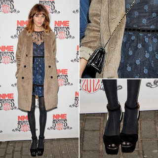 Alexa Chung Wearing Valentino at NME Awards London