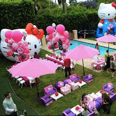 Celebrity Kids Birthday Parties