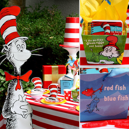 Dr. Seuss-Themed Birthday Party Ideas