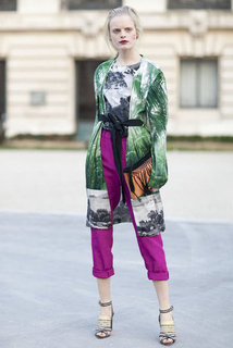 Street Style Paris Fashion Week Fall 2012