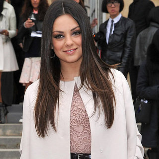Mila Kunis Pictures at Fall 2012 Dior Show