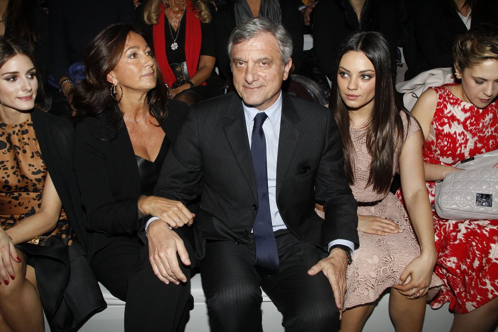 Mila Kunis Rises Early For a Dior Show