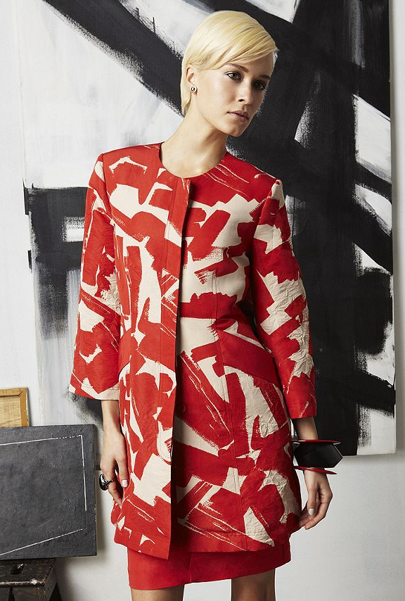 doo.ri For Impluse Macy's Printed Coat ($85)