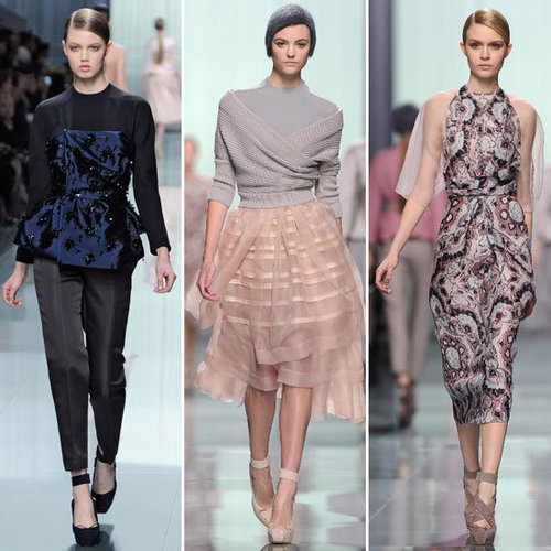 Review and Pictures of Christian Dior Autumn Winter 2012 Paris Fashion Week Runway Show