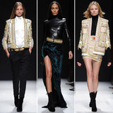 Catch up on all of Paris Fashion Week's best shows yet — Balmain, Nina Ricci, Carven, and more!