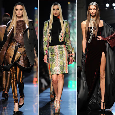 Review and Pictures of Jean Paul Gaultier Autumn Winter 2012 Paris Fashion Week Runway Show