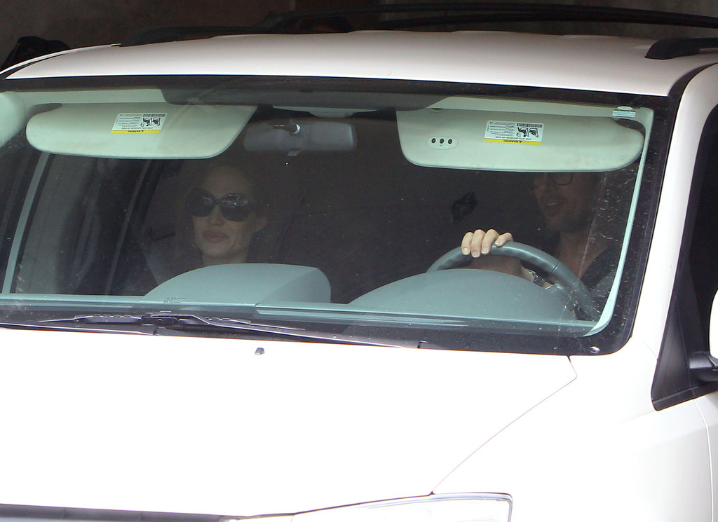 Brad and Angelina Pack Up the Kids and Say Bye to NOLA
