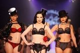 Sit Front Row at Dita von Teese's Sexy Lingerie Show at LMFF
