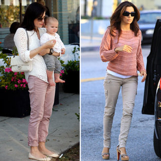 Eva Longoria Rose Sweater