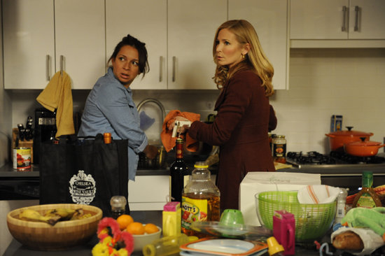Maya Rudolph and Jennifer Westfeldt in Friends With Kids. Photo courtesy of Roadside Attractions