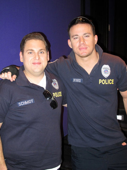 Channing Tatum and Jonah Hill snapped a photo together.
