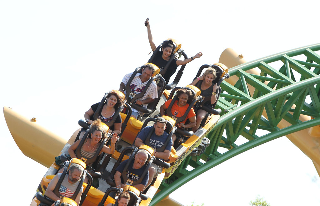Vanessa Hudgens spent Saturday at Busch Gardens.