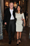 François-Henri Pinault and Salma Hayek went to Paris Fashion Week.