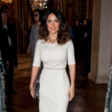Salma Hayek and Alicia Keys at Stella McCartney in Paris