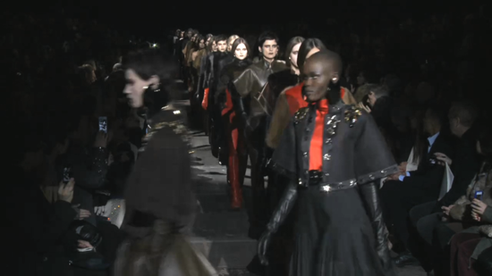 Watch the Entire Givenchy Fall 2012 Runway Here!