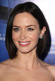 Emily Blunt revealed a pair of Chopard earrings.