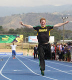 Prince Harry Runs to a Victory Against Jamaica's Usain Bolt