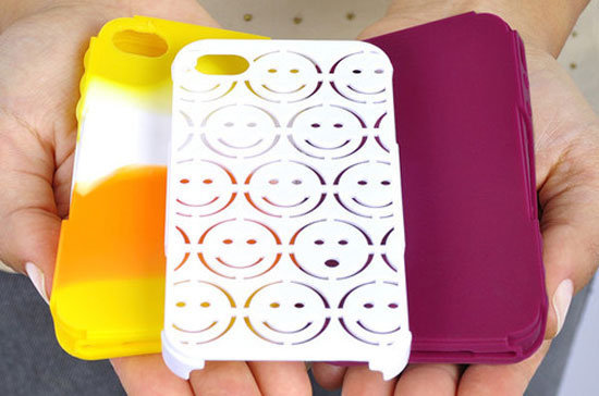 Put a smile on your smartphone with the Tech Candy Happy Day ($35) for iPhone 4.