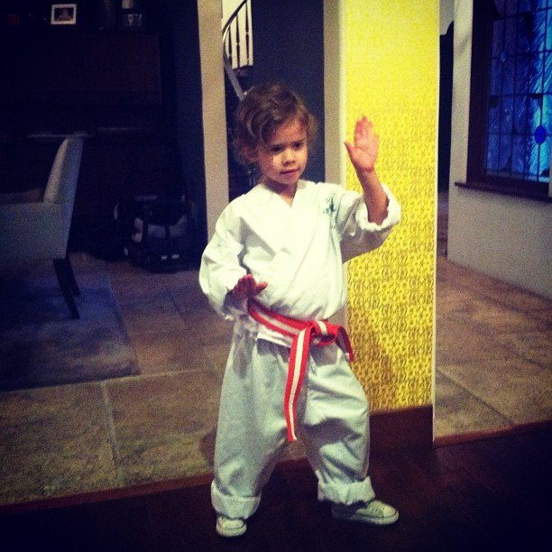 Cash Warren's Lil Orange Belt