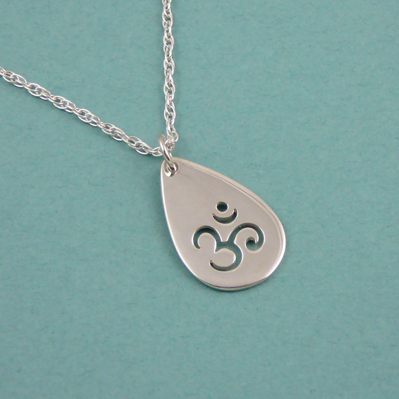 Om Cutout Necklace