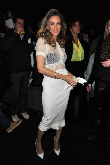 Sarah Jessica Parker Goes Sheer For Louis Vuitton