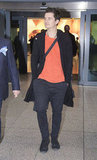 Orlando Bloom at Heathrow.