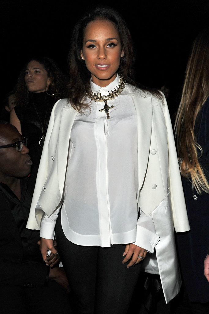 Alica Keys was at Givenchy.