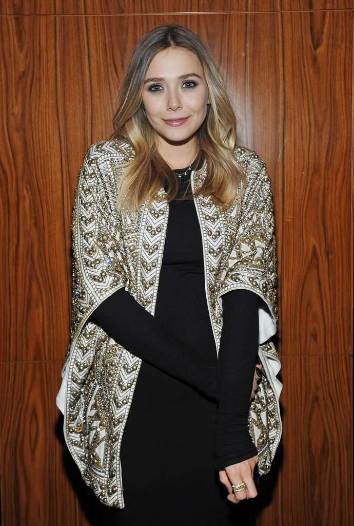 Elizabeth Olsen celebrated Silent House.