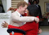 Prince Harry Mixes It Up in Jamaica in Black Tie and Army Gear