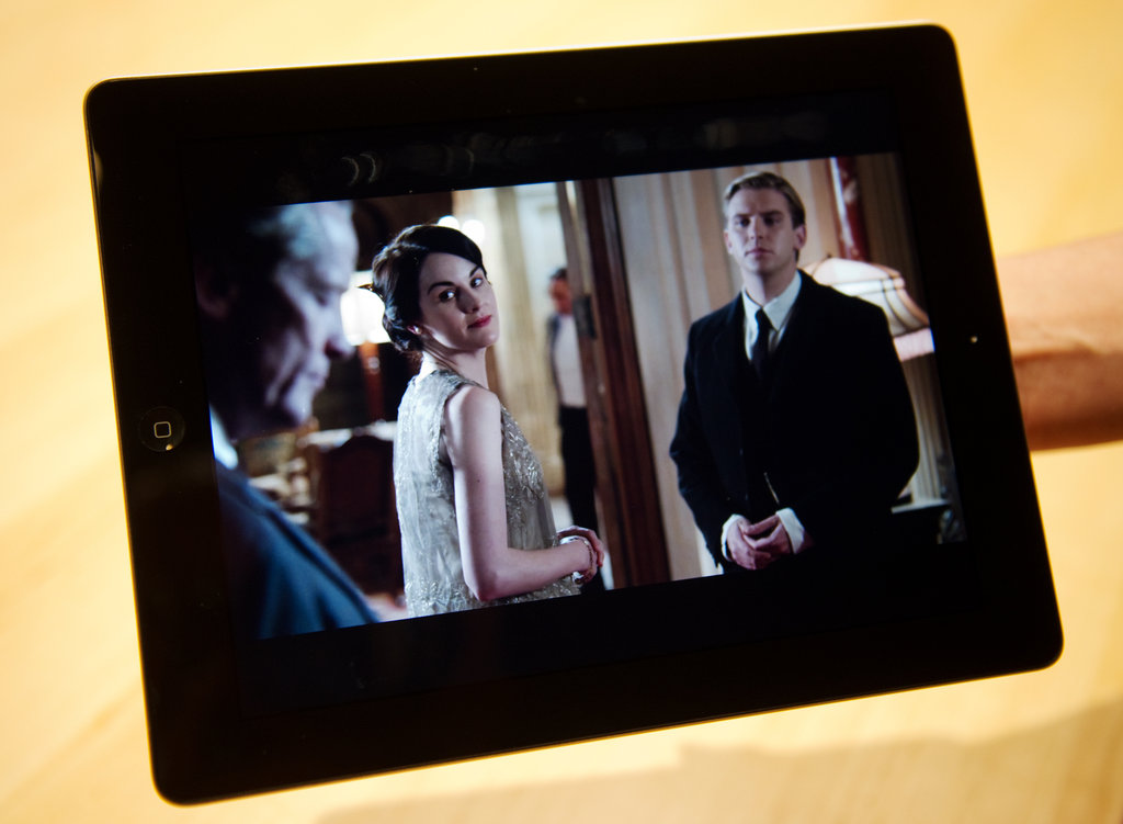 Downton Abbey on the new iPad? Yes, please!