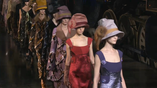 See Louis Vuitton's Ladylike Fall 2012 Collection