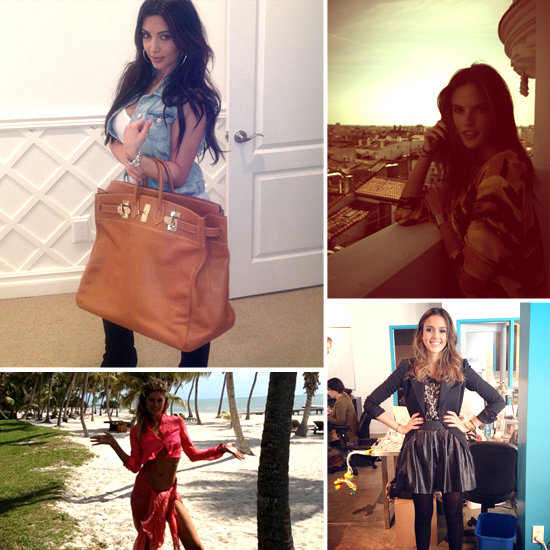 Pictures of Celebrities and Models on Twitter March 8, 2012